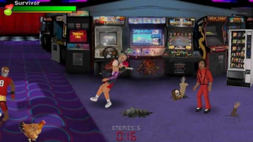重生:僵尸生存游戏截图2