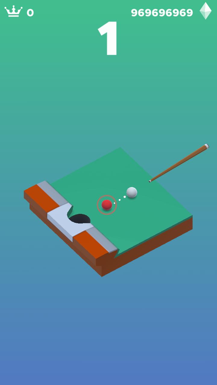 口袋桌球游戏截图2