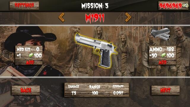 精英僵尸射手狙击行动游戏截图3