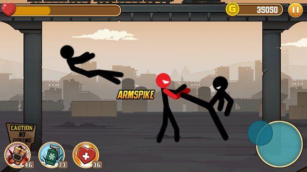 火柴人战斗游戏截图1