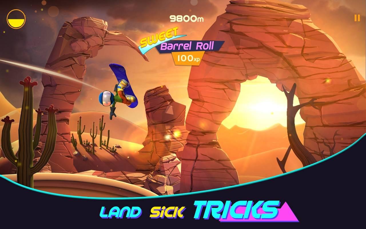 熔岩滑板大冒险游戏截图1