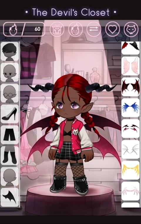 恶魔的衣橱游戏截图1