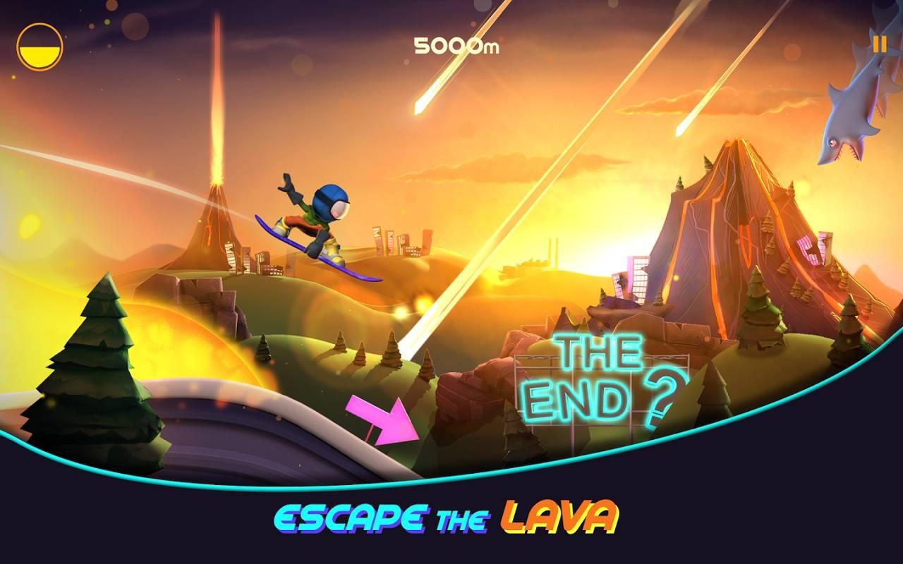 熔岩滑板大冒险游戏截图2