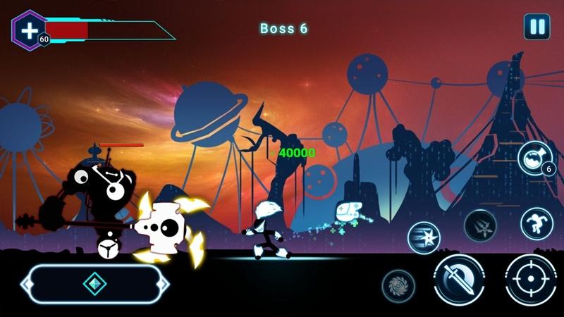 火柴人战士2星球大战游戏截图3