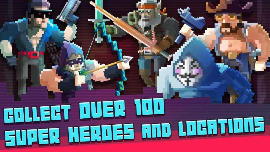 超级英雄格斗俱乐部游戏截图1