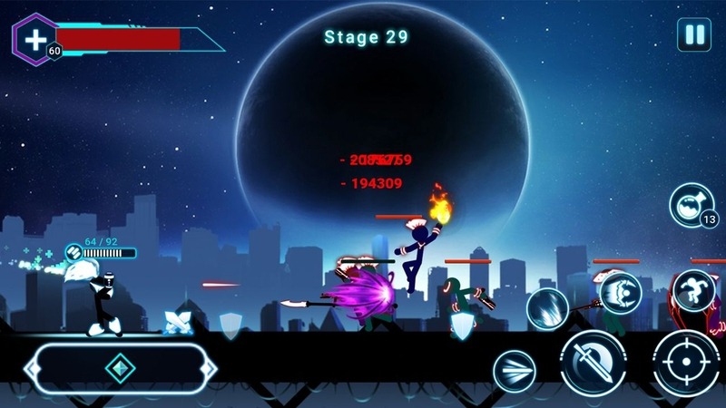 火柴人战士2星球大战游戏截图2