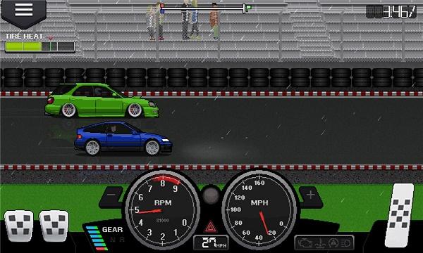 像素赛车手游戏截图2