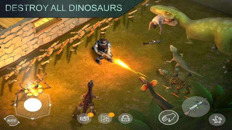 侏罗纪生存游戏截图3