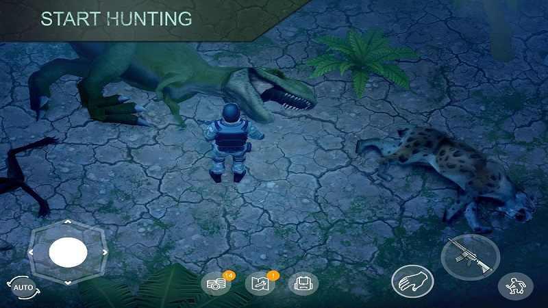 侏罗纪生存游戏截图1