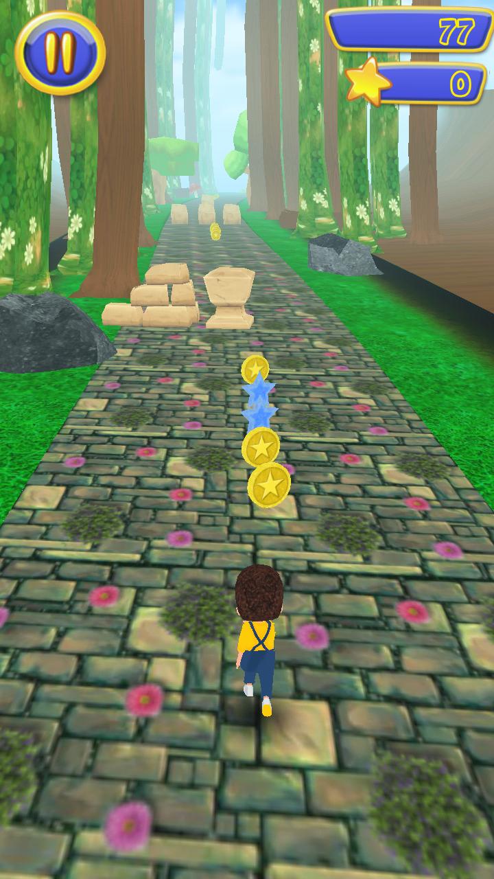 金的赛跑游戏截图1