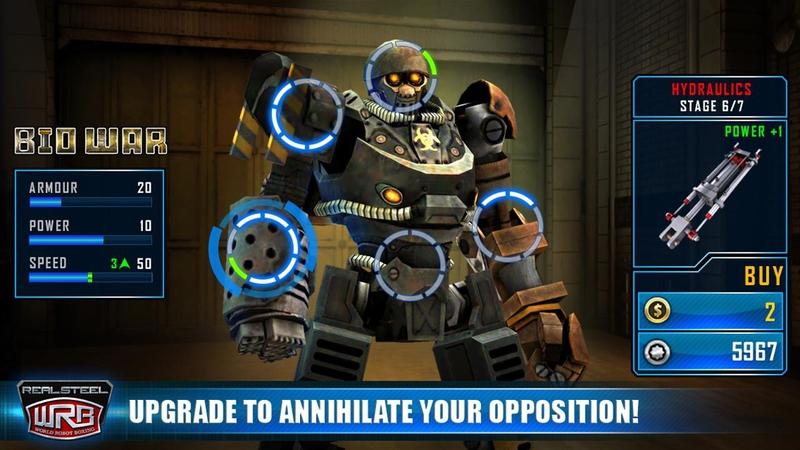 铁甲钢拳世界机器人游戏截图3