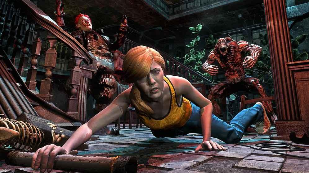 恐怖小丑生存游戏截图3