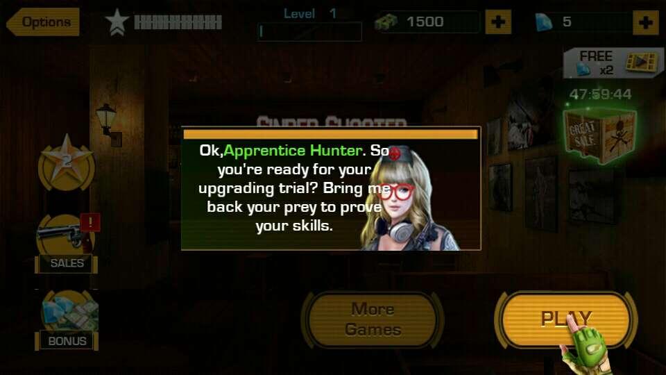 狙击手:动物狩猎游戏截图2