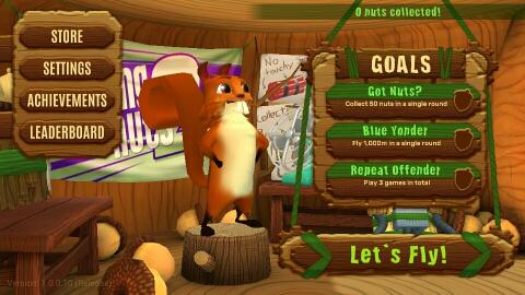 飞鼠吃坚果2游戏截图2