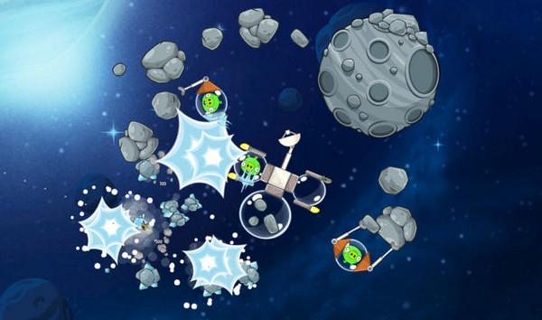 愤怒的小鸟太空版游戏截图2