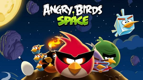 愤怒的小鸟太空版游戏截图1