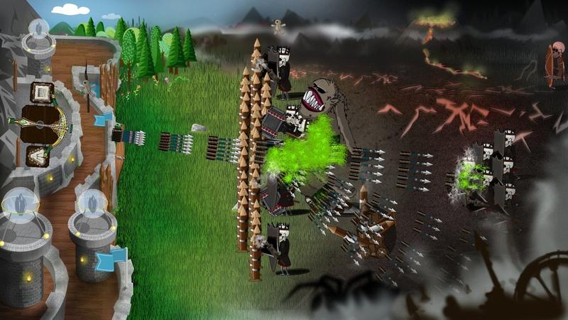 冷酷防御者城堡塔防游戏截图1