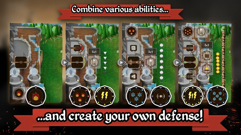 冷酷防御者城堡塔防游戏截图2