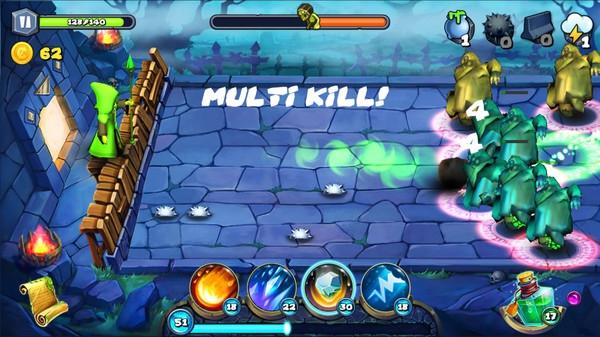 魔法围攻游戏截图3