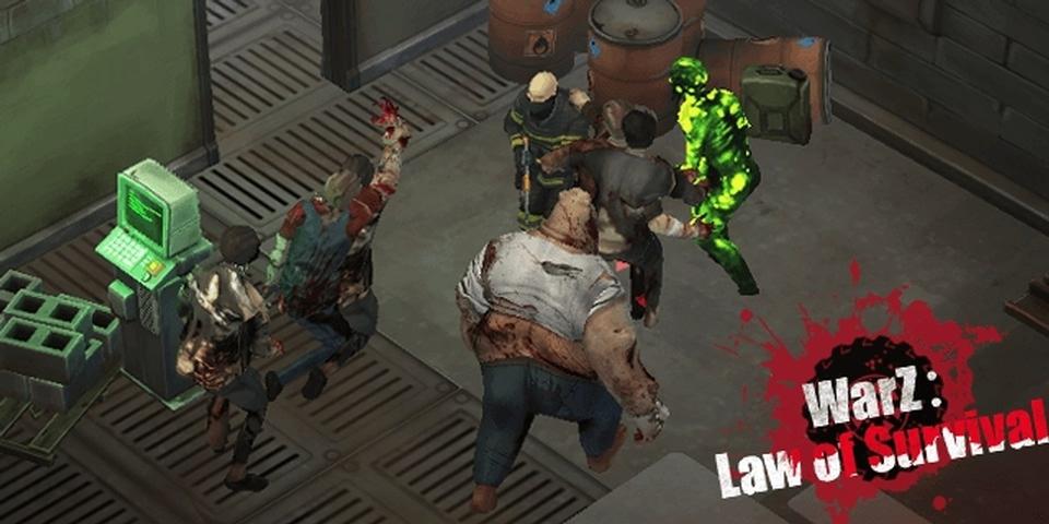 僵尸战争生存法则游戏截图2