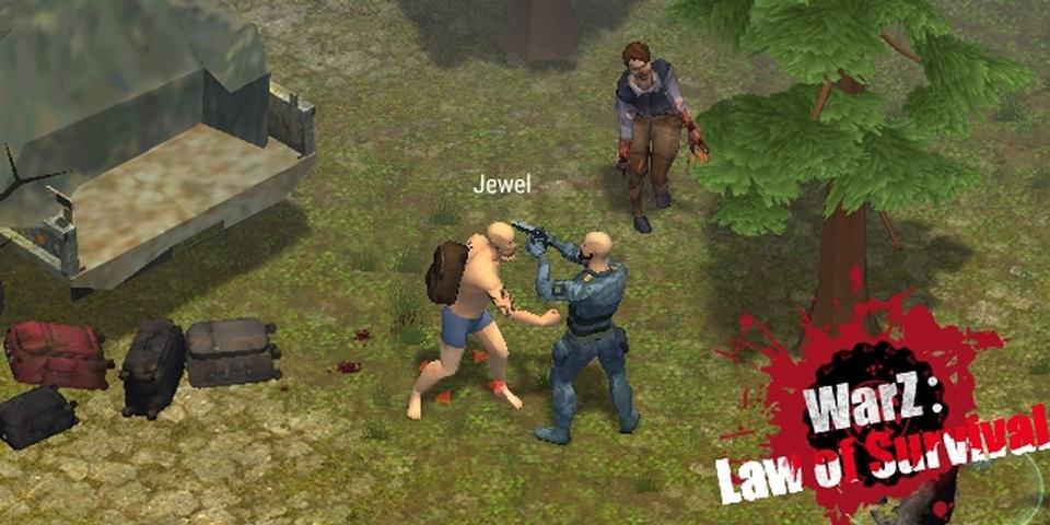 僵尸战争生存法则游戏截图3