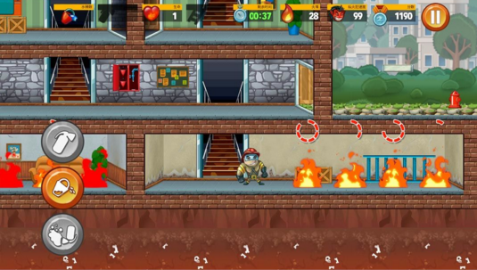 小小消防员游戏截图2