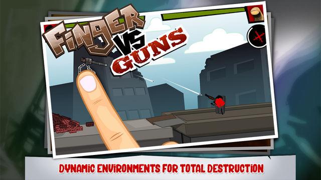 手指VS枪游戏截图3