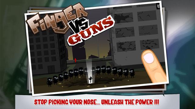 手指VS枪游戏截图1
