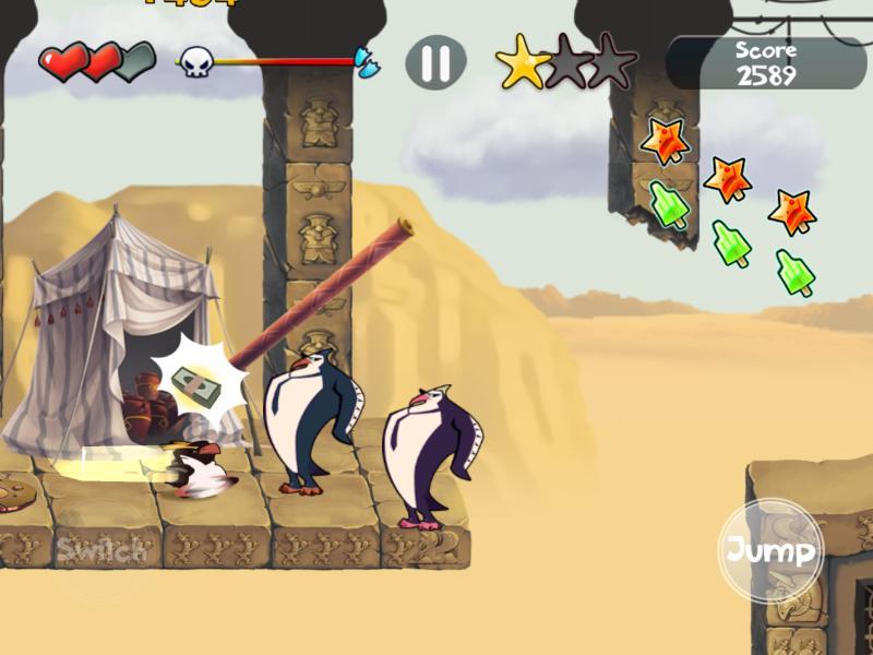阿罗哈企鹅游戏截图3