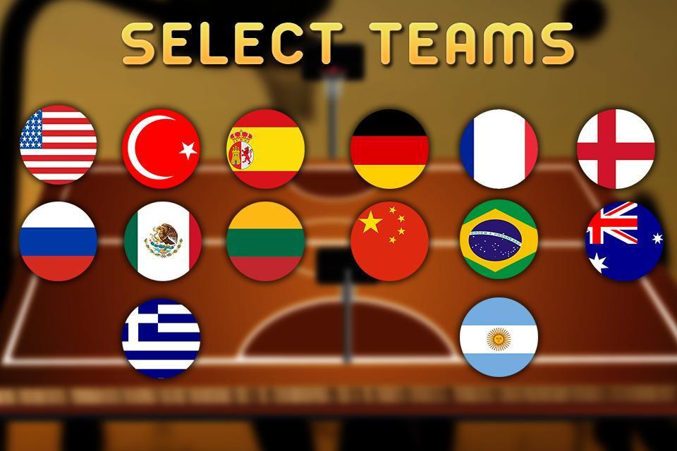 真正的3D篮球:全场对决游戏截图1