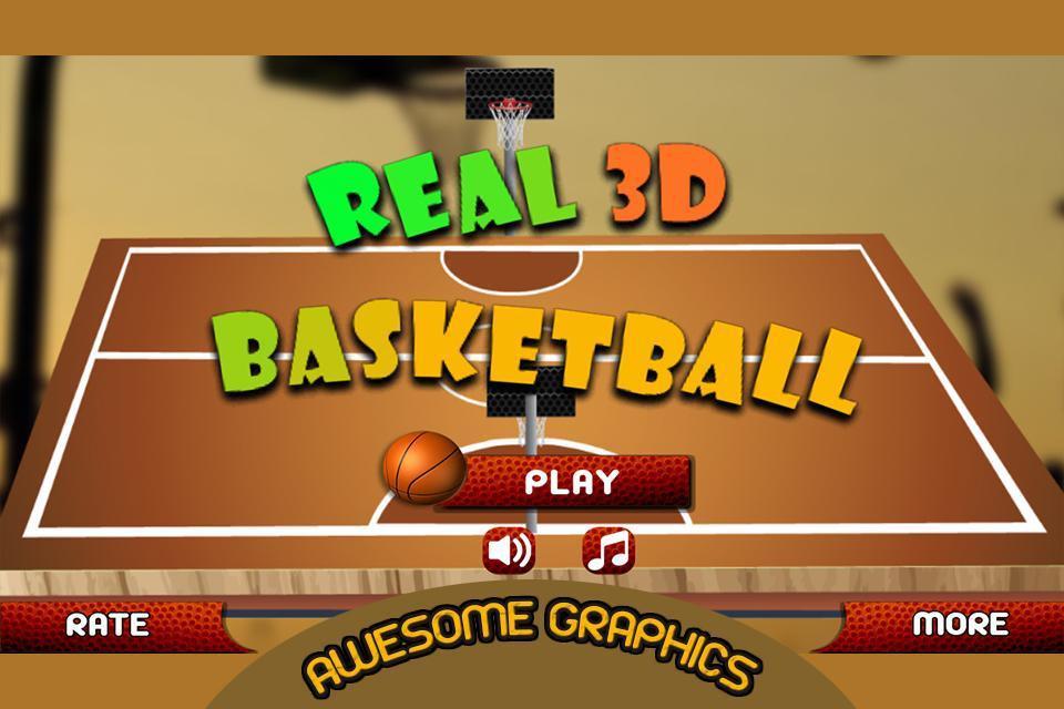 真正的3D篮球:全场对决游戏截图2