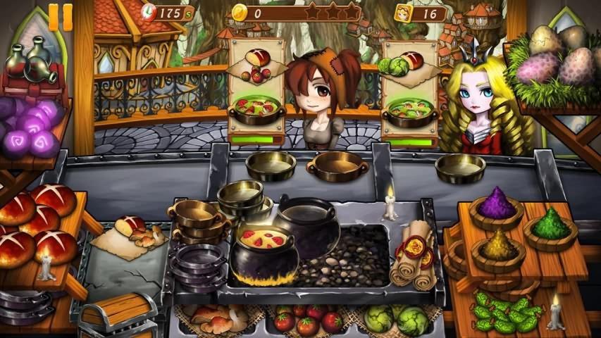 烹饪女巫游戏截图2
