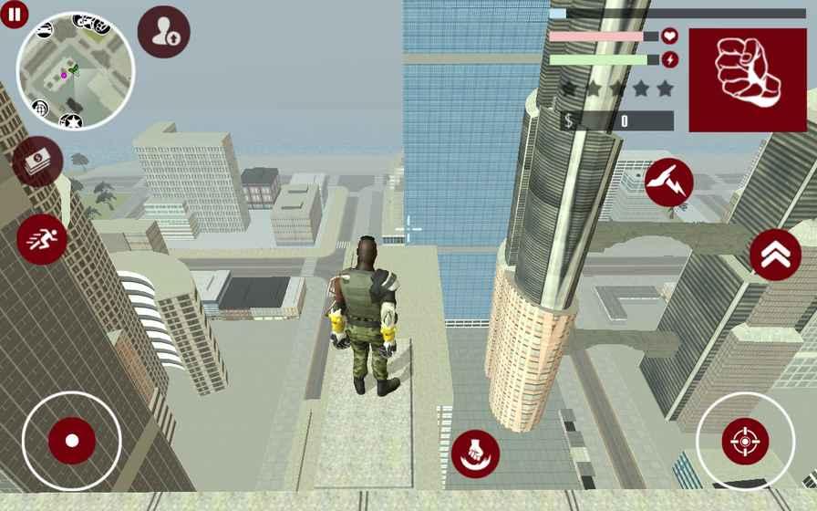 铁拳超人城市守护游戏截图2