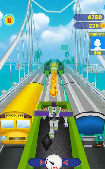 巴斯地铁跑酷游戏截图1