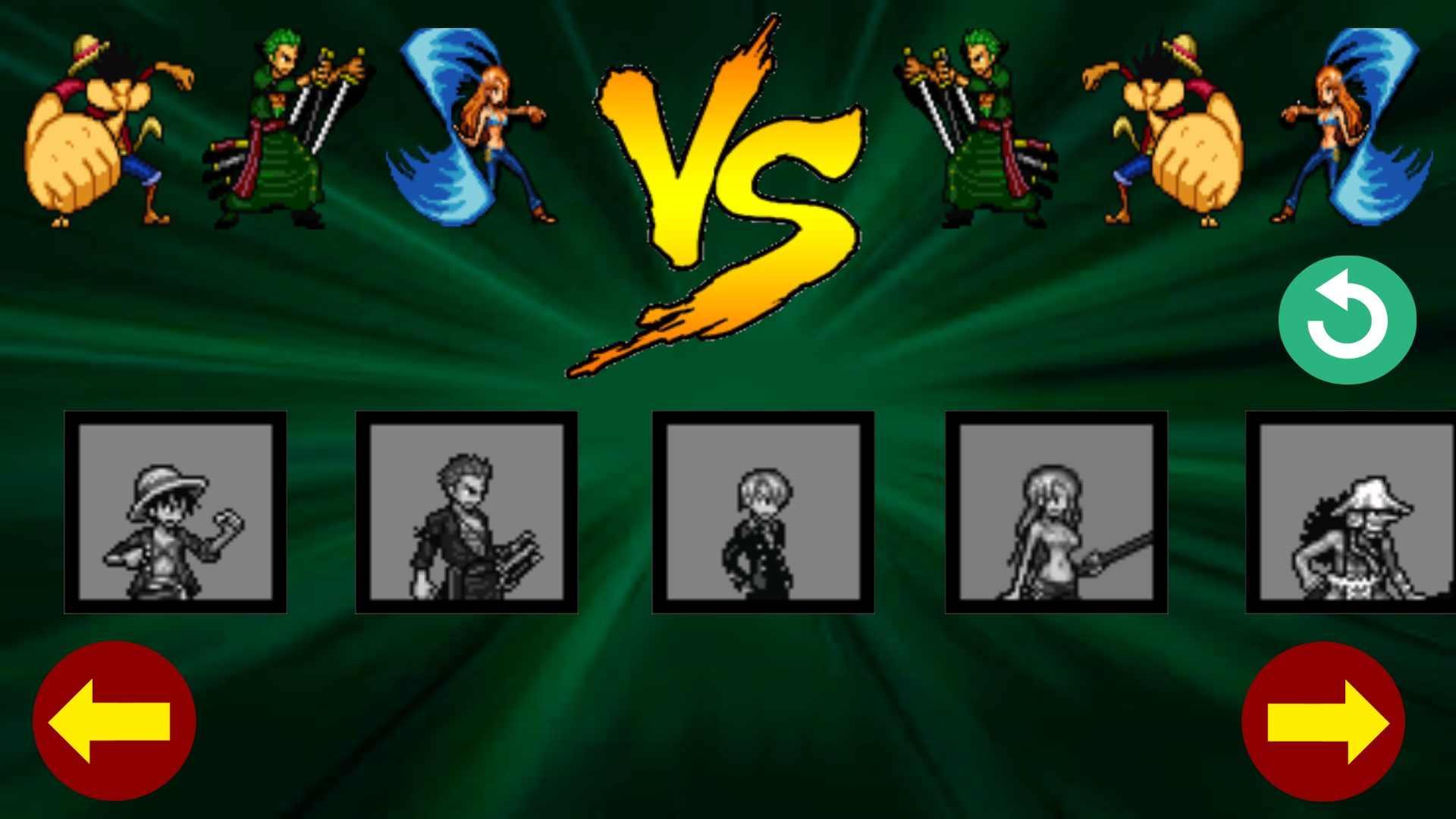 海贼王格斗游戏截图3