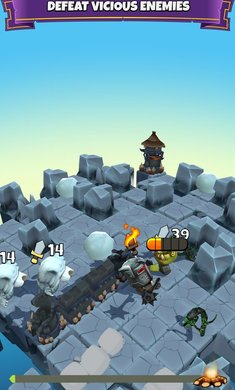 块状骑士游戏截图3