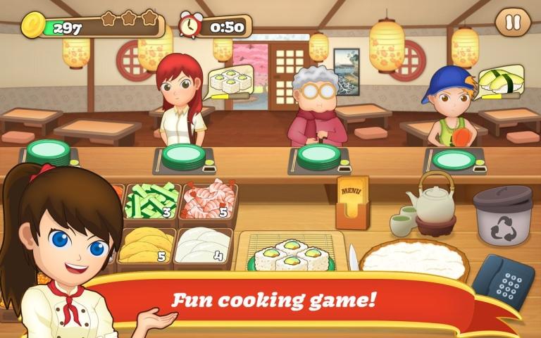 狂热寿司料理游戏截图1