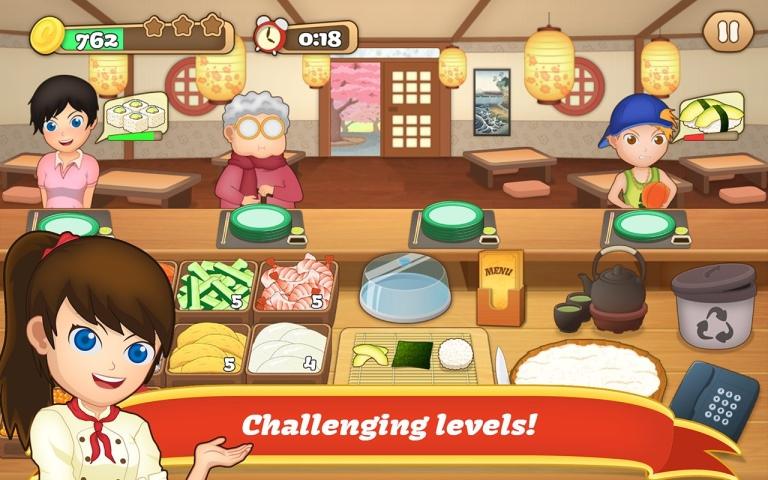 狂热寿司料理游戏截图3