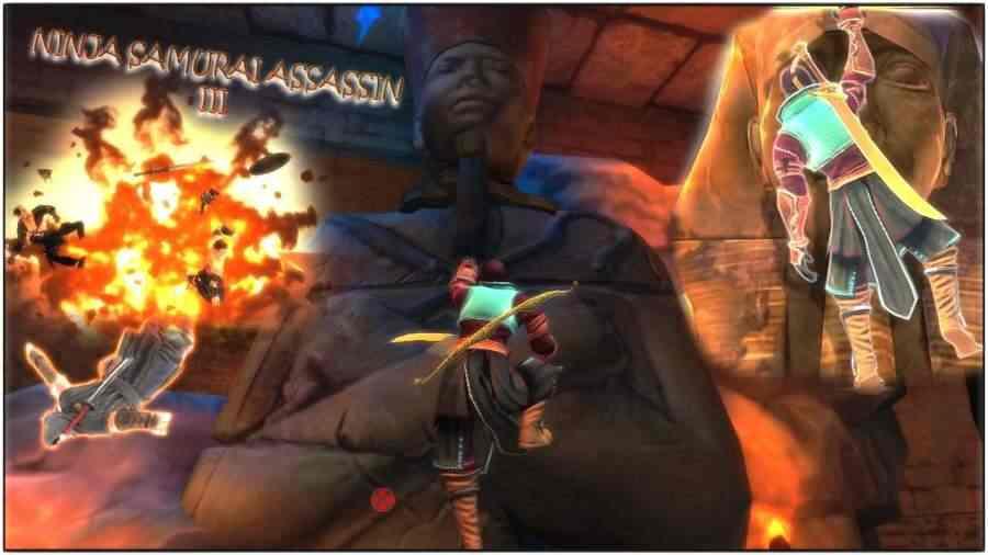 忍者武士刺客英雄III埃及游戏截图3