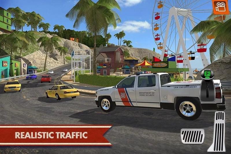 海岸交通工具模拟驾驶游戏截图3