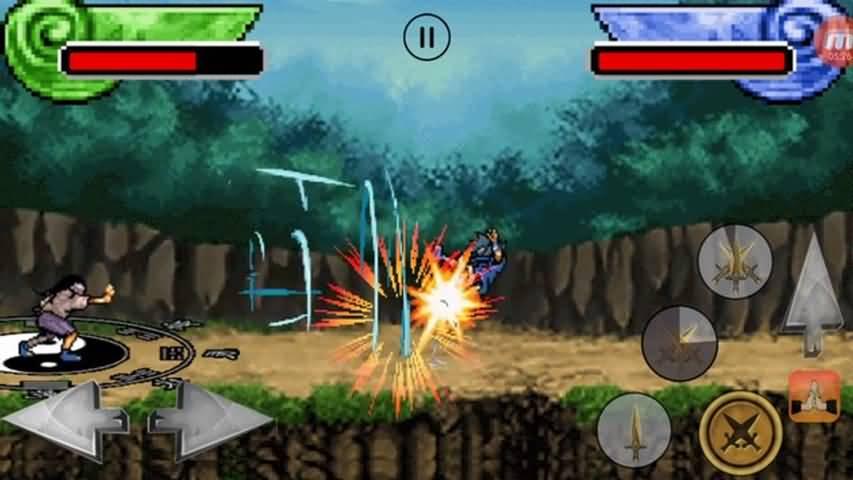 忍者比赛游戏截图2