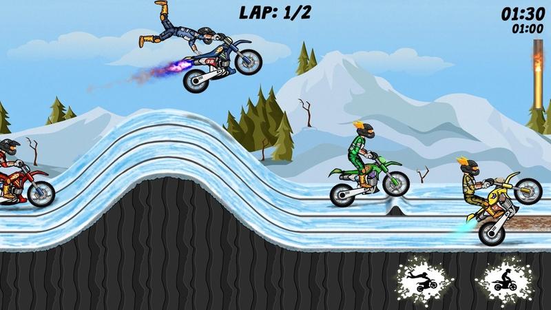特技极限:小轮车男孩游戏截图2