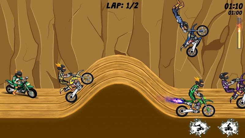 特技极限:小轮车男孩游戏截图1