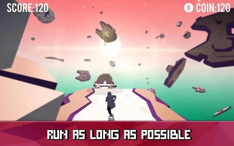空中跑酷跑者游戏截图1