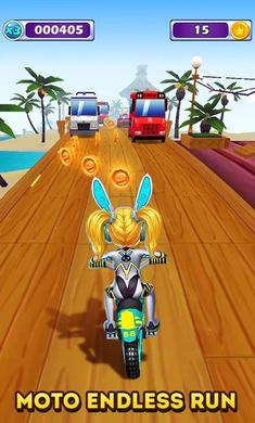 摩托酷跑游戏截图2