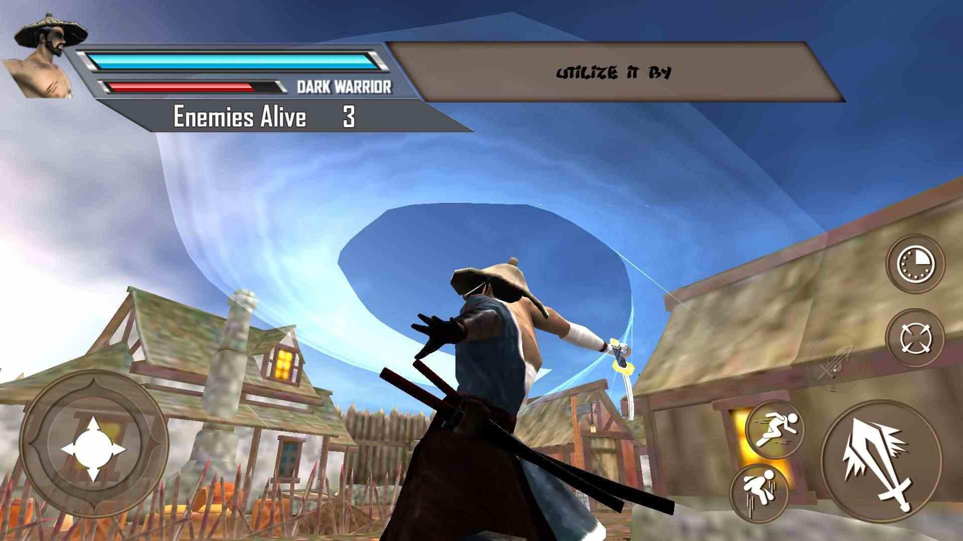 影忍者刺客战士游戏截图2
