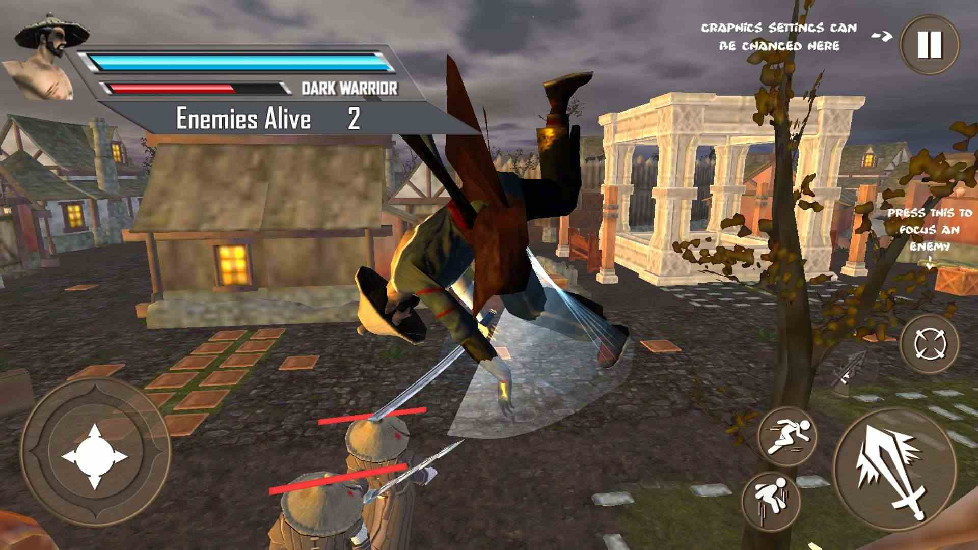 影忍者刺客战士游戏截图3