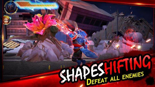 忍者狼人街头战斗游戏截图3