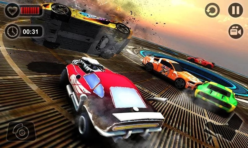 汽车对决游戏截图2
