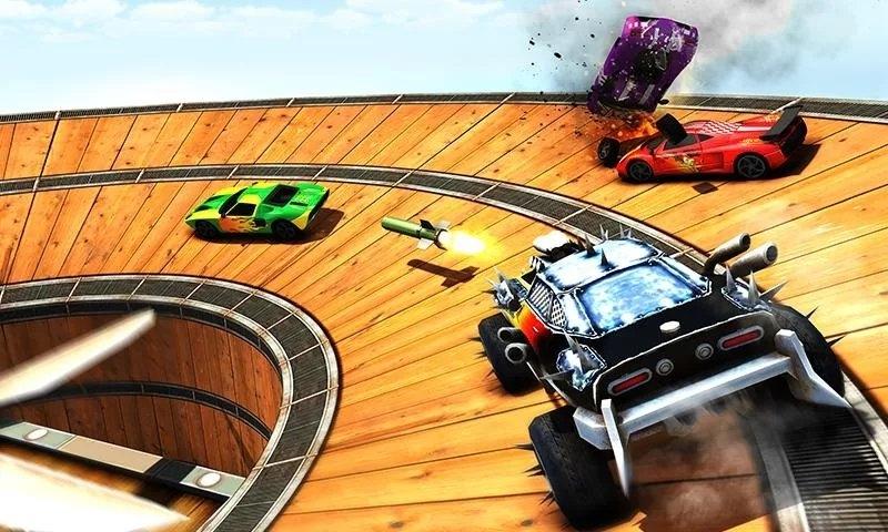汽车对决游戏截图1